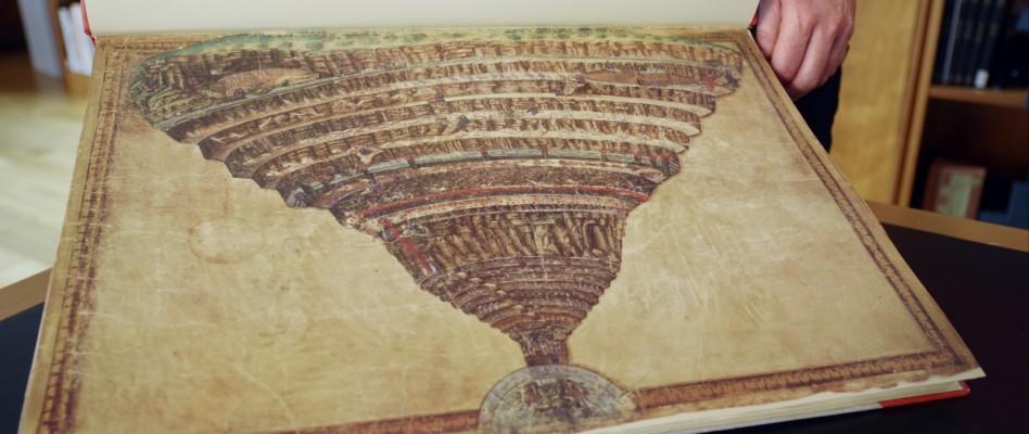 Botticelli, Dante, Vatican, Escurial