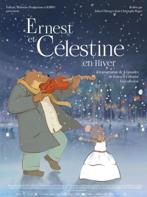Films Enfant, Animation, Ernest et Celestine, Myrtille et le père-noël