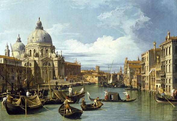 Exposition au cinéma, Canaletto