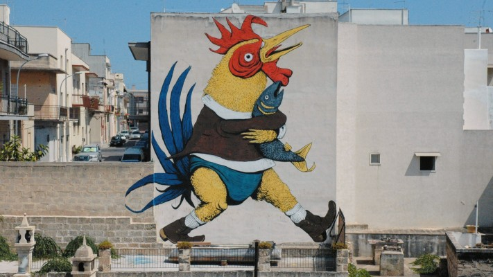 Documentaire, Street-Art,  Giacomo Abbruzzese, Grottaglie