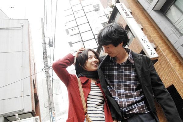 Michiko Yoshitake (productrice du film) et Pascal-Alex Vincent